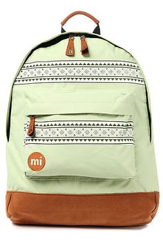 mi pac backpack nordic in mint 3a7f07c752934