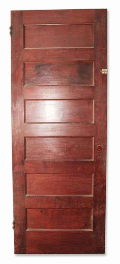 Original stained pine door with a small Stanley surface bolt. Priced each. Ask about our large selection of antique door hardware. We have […] Antique Door Hardware, Antique Doors, Arched Doors, Entry Doors, Pine Doors, Antique Interior, Pocket Doors, Closet Doors, Cabinet Doors