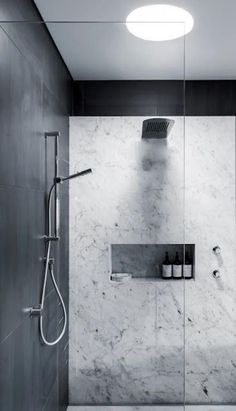 Luxury Bathroom Master Baths Marble Counters is agreed important for your home. Whether you choose the Luxury Bathroom Ideas or Luxury Bathroom Master Baths Walk In Shower, you will make the best Interior Design Ideas Bathroom for your own life. Marble Showers, Steam Showers Bathroom, Bathroom Renos, Laundry In Bathroom, Bathroom Ideas, Bathroom Designs, Shower Ideas, Bathroom Remodelling, Bathroom Taps
