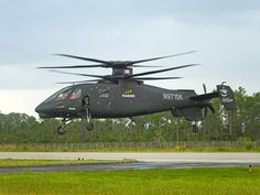 Sikorsky S-97 Raider - İt is neither a helicopter nor a plane, it is a rotorcraft.