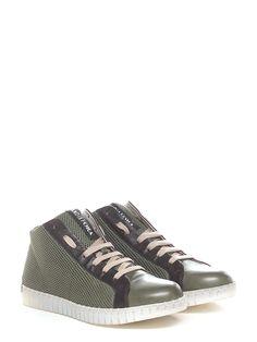 Sneaker in pelle con suola in gomma. tacco 30. - Sneaker Militare Andia Fora 18894e4a296