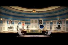 Boeing Boeing. Seattle Repertory Theatre. Scenic design by Carey Wong. 2013