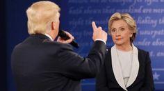 Second debate Hillary Clinton Donald Trump battle bitterly - Stuff.co.nz