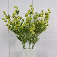 Abigail Ahern Flowers: Faux Green Hellebore Stems