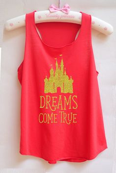 Gold Glitter Dreams come true castle -Disney shirt,Disney tank top,Princess shirt,Princess tank top,disney world shirt,disney land tank top by RainbowTank on Etsy https://www.etsy.com/listing/490793804/gold-glitter-dreams-come-true-castle