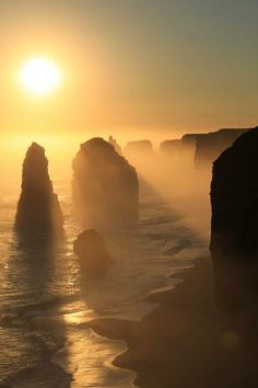 The Twelve Apostles - Port Campbell National Park ~ Victoria ~ Australia.