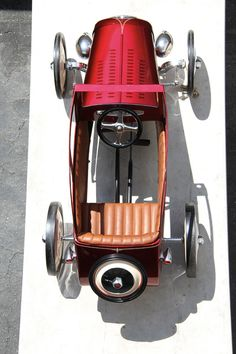 Vintage pedal cars are an extraordinary addition to our collection and is something you should come check out for yourself! #BerkshireCollects