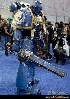 El cosplay del año.