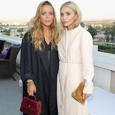 Mary-Kate and Ashley Olsen  July 2016