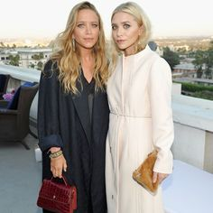 Mary-Kate and Ashley Olsen  July 2016