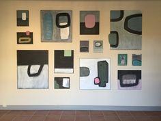 Wandinstallatie bij Galerie Mikst Media, november 2015