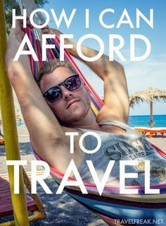 How I've been able to afford traveling the world non-stop for the last five year. - How I've been able to afford traveling the world non-stop for the last five years. From working - Travel Info, Cheap Travel, Travel Advice, Budget Travel, Time Travel, Places To Travel, Travel Tips, Travel Destinations, Travel Stuff