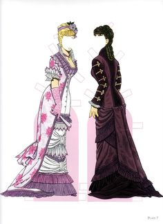 High Victorian Fashions Paper Dolls by Tom Tierney (Bigger and better version) - edprint2000paperdolls - Álbumes web de Picasa