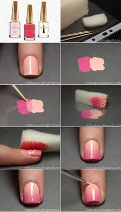 Blog Jequiti - Tutorial de unhas degradê