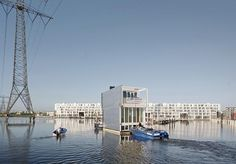Floating Houses, The Netherlands by Marlies Rohmer Architects & Planners | Buildings | Architectural Review