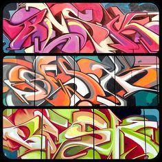 #graffiti #lettering #font #art #aerosolart #spray #spraypaint #sprayart  #cans #wall #justforfun #instacool #blef #besk #Padgram