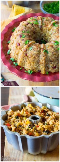 Stuffing Bundt: How to Prepare Stuffing in a Bundt Pan!! #thanksgiving #holiday #howto #bundt