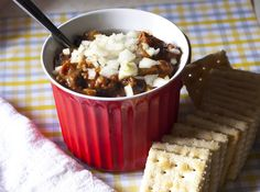 Recipe: Thick Quick Healthy Chili — Fo Reals Life - made with beer? Paleo Recipes Easy, Dairy Free Recipes, Vegetarian Recipes, Vegetarian Chili, Delicious Recipes, Healthy Chili, Veggie Chili, Healthy Eats, Good Food