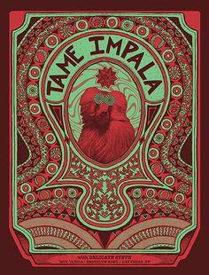Tame Impala - Brooklyn Bowl, Las Vegas, NV 2014 - by Matthew Decker
