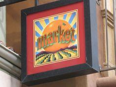 Market Sign, California Adventure.