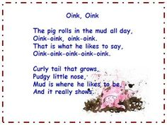 Visit A Teacher's Touch for a rollicking little song to share with your students. You Might Also Like:Farm Songs FreebieFarm Listening Response FreebiesLittle Pig an emergent readerMore Farm Listening Response Activities Farm Animals Preschool, Fall Preschool, Preschool Songs, Preschool Programs, Songs For Toddlers, Kids Songs, Three Little Pigs Song, Farm Songs, Farm Lessons