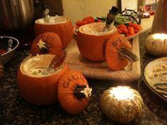 Pumpkin Dipping!