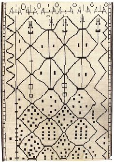 Moroccan Rugs Gallery: Moroccan Design Turkish Rug, Hand-knotted in Turkey; size: 8 feet 3 inch(es) x 11 feet 4 inch(es) Tapis Design, Synthetic Rugs, Morrocan Rug, Cheap Rugs, Textile Fiber Art, Moroccan Design, Textiles, Types Of Rugs, Tejidos