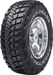 Goodyear wrangler mt/r with kevlar bsw all-season tire Rv Tires, Truck Tyres, Best Car Tyres, Best Pickup Truck, Goodyear Wrangler, Tyre Brands, Discount Tires, Goodyear Tires, Winter Tyres