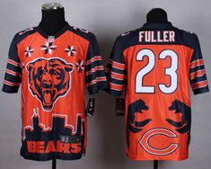 Chicago Bears 75 long orange 2015 New Style Noble Fashion Elite  Jerseyscheap nfl jerseys 8c5d23a2a