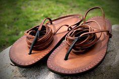 Leather Tarahumara Huarache sandals by Hippiestyle on Etsy, $43.00