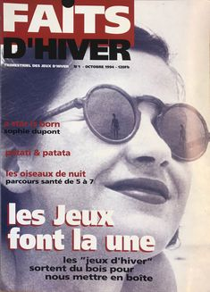 """01/10/1994 - Magazine """"Faits Divers"""" #1 Conception et rédaction: S. Degroodt Dupont, Magazine, Movies, Movie Posters, Design, Winter Games, Night Owl, Wood Games, Film Poster"""