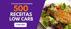 LOW CARB: ALIMENTOS PERMITIDOS, MODERADOS E PROIBIDOS - Eu, Low Carb Janta Low Carb, Low Carb Diet, Lchf, Detox, Gluten Free, Chicken, Banana, Health, Dieta Fitness