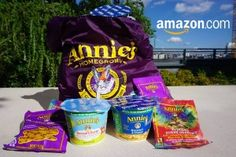 Win a Bag Filled with Annie's Homegrown Back to School Snacks