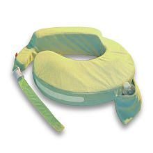 The best friend a nursing mommy can have- got me through two babies! My Brest Friend Deluxe Wearable Nursing Pillow - Green