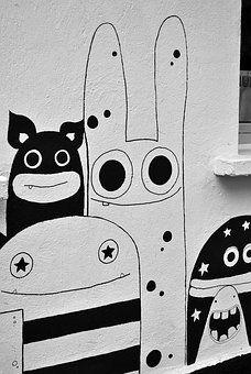Art De La Rue, Monster, Comique