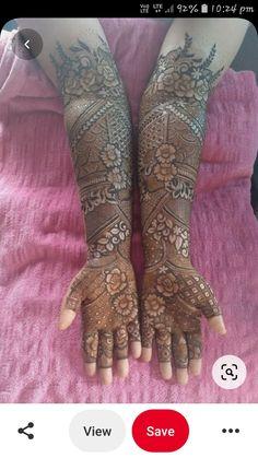 Latest Henna Designs, Best Mehndi Designs, Bridal Mehndi Designs, Mehandi Designs, Henna Mehndi, Mehendi, Border Embroidery Designs, Mehndi Patterns, Black Heart