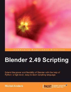 Blender 2.49 Scripting