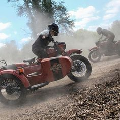 Livin' the sidecar life. @wilkinsonbros . Corey (left) on our @uralmotorcycles cT and Casey on our Ural Red October. . Photography by @motocollab. . #motorcycle #sidecar #ural #uralmotorcycles #wilkinsonbros #motorcycles #adventure