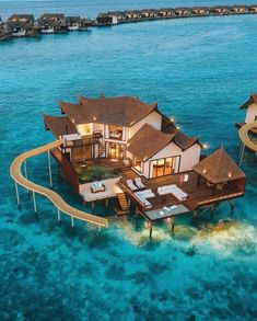 Lavish Hotels, all of us cautiously select and value each motel, vacation resort, lodge and home in one's series. Vacation Places, Dream Vacations, Vacation Spots, Beautiful Places To Travel, Beautiful Hotels, Maldives Villas, Hotels In Maldives, The Maldives, Luxury Homes Dream Houses