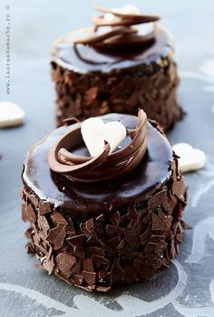 weeheartfood: Mini chocolate cakes