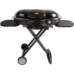 Coleman RoadTrip LXE Portable Propane Grill, Blue - Show off your grilling skills on camping trips, on picnics, and at tailgating parties with the Coleman RoadTrip LXE Portable Propane Grill. This outdoor grill combines a collapsible, portable design with Coleman Propane, Coleman Camping Stove, Coleman Stove, Best Gas Grills, Propane Cylinder, Portable Grill, Built In Grill, Sequoia National Park, Camping Lights