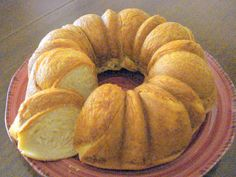 Crescent Roll Bread | I used 6 Tbsp butter. So yummy! People will think you made homemade bread!