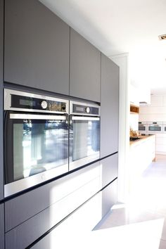 Kvassås - Hamran Bespoke Kitchens, Living Room Kitchen, Room Ideas, Kitchen Cabinets, Home Decor, Islands, Decoration Home, Room Decor, Kitchen Living