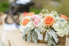 #centerpiece  Photography: Apryl Ann Photography - aprylann.com  Read More: http://www.stylemepretty.com/2013/12/03/texas-hill-country-wedding-from-apryl-ann-photography/