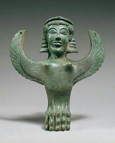 """河島思朗 on Twitter: """"どや顔のスフィンクス。 紀元前600年頃、ギリシア、ブロンズのスフィンクス像。 Metropolitan Museum https://t.co/FY9mCFrhIu"""""""