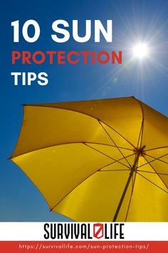 The great outdoors is tons of fun, but you shouldn't be skipping out on sun protection when you're out there. Look after your skin with the help of these important tips! #survivallife #survival #preparedness #survivalist #prepper #camping #outdoors #spring #sunprotection Survival Life, Survival Skills, Camping Outdoors, Emergency Preparedness, Sun Protection, The Great Outdoors, Your Skin, The Help, Shit Happens