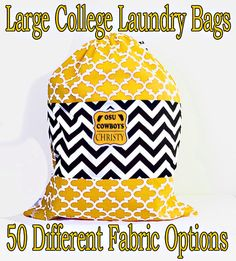 Laundry Bag large custom laundry bag by ColorStyleDesign on Etsy College Bedding, Grad Gifts, Different Fabrics, Dorm Decorations, Large Bags, Design Your Own, Houndstooth, Duvet Covers, Laundry Bags