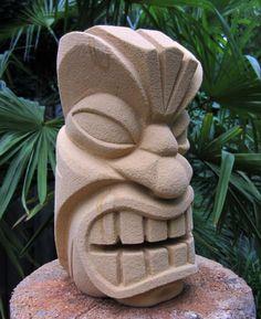 My first tiki (statue/sculpture) -- Tiki Central