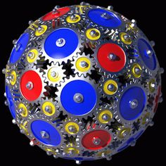 """I took some """"artistic license"""" with the gears. __________________ GIF animation - 256 colors - 6 frames Also available: 92 Gears - Hi-r. Potpourri, Mechanical Gears, Flash Animation, Scrap Metal Art, Gif Animé, Animated Gif, Mechanical Engineering, Steampunk Diy, Cool Diy Projects"""