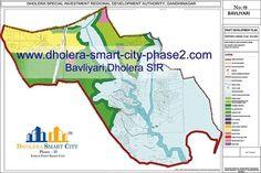 Map of BAVLIYARI, Dholera SIR #Dholera #DholeraSIR #DholeraSmartCity #Gujarat